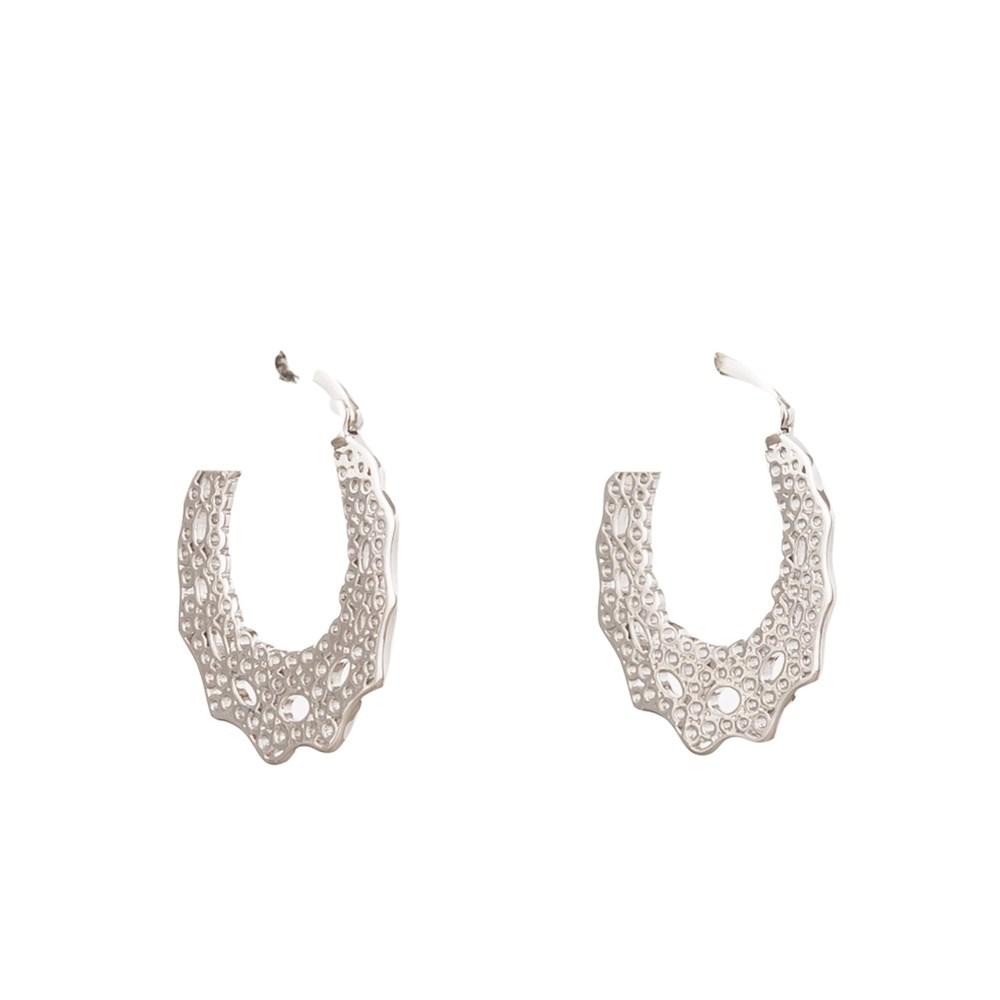 Stella + Gemma Silver Boheme Earrings silver