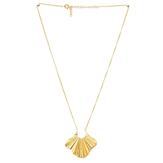 Stella + Gemma Gold Iris Necklace