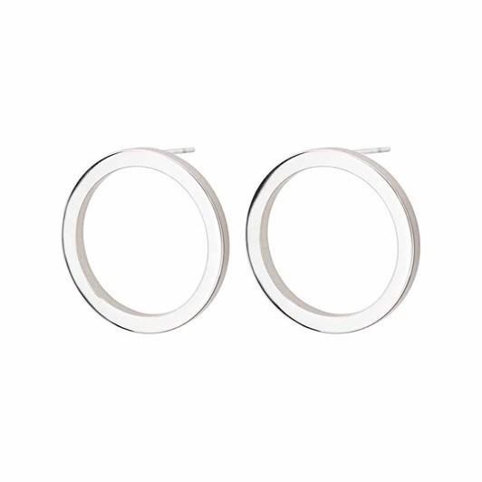 Edblad Circle Earrings Small Steel