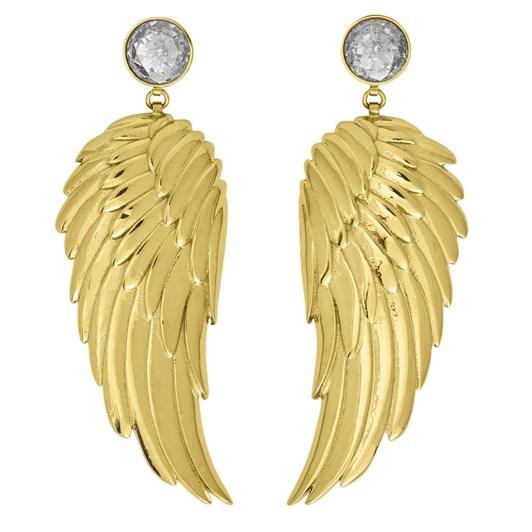 Edblad Angel Earrings Large Cz Gold