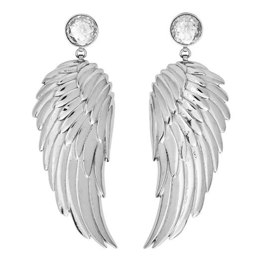 Edblad Angel Earrings Large Cz Steel
