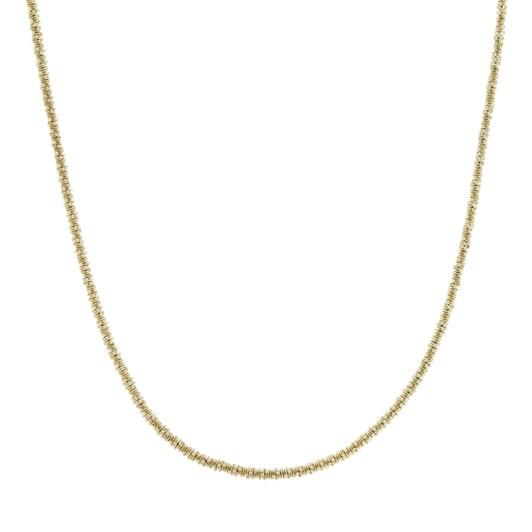 Edblad Tinsel Necklace 42Cm Gold
