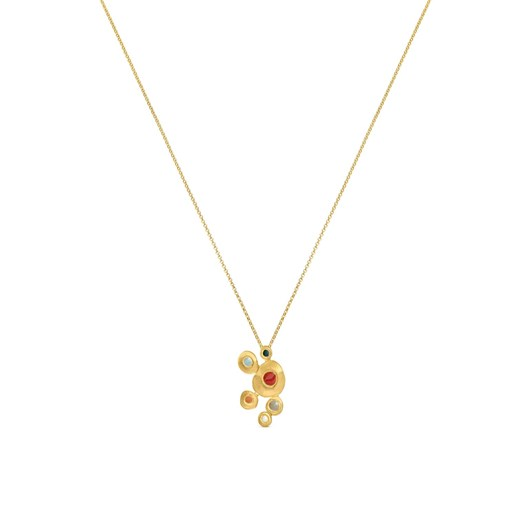 Joidart Favorita Colors Golden Necklace