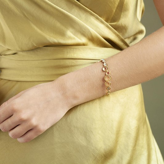 Joidart Favorita Colors Golden Bracelet