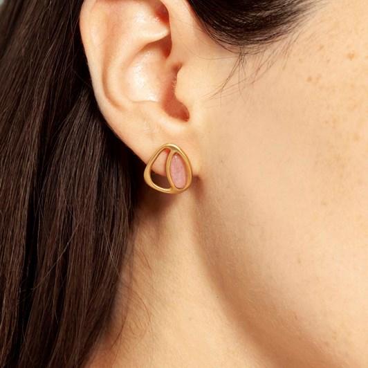 Joidart Exuberant Small Golden Earrings