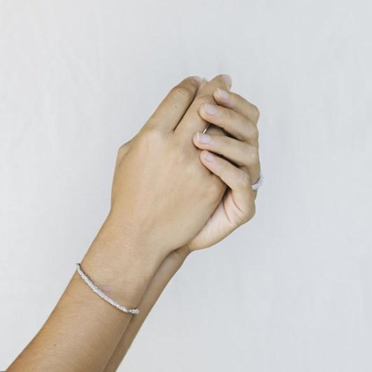 Joidart Stardust Silver Bracelet