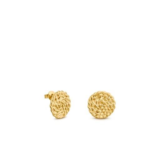Joidart Mimbre Golden Earrings
