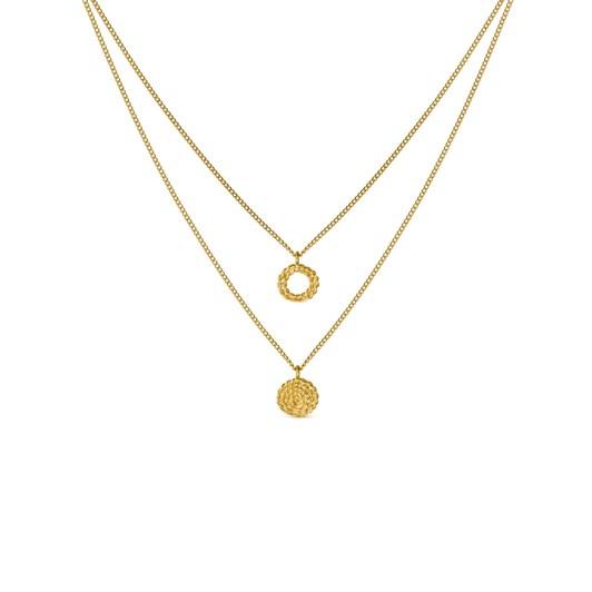 Joidart Mimbre Golden Necklace 42Cm
