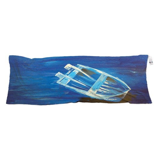 The Artist Label Boat On The River Silk Neck Scarf