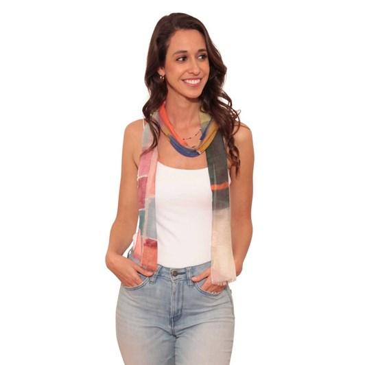 The Artist Label Multiform Silk Neck Scarf