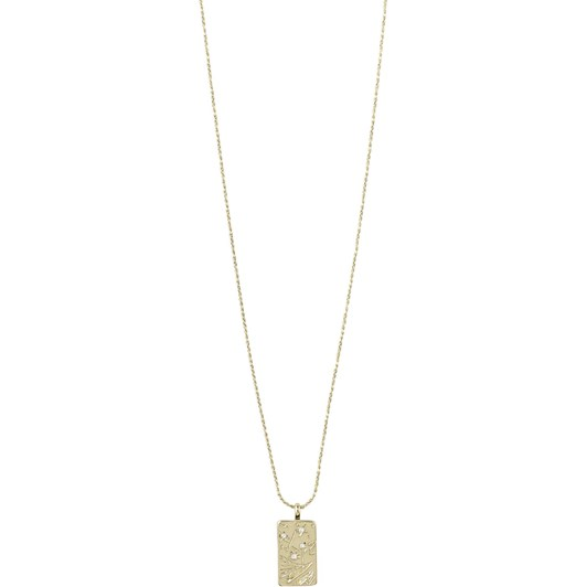 Pilgrim Gracefulness Gold Plated Crystal Necklace