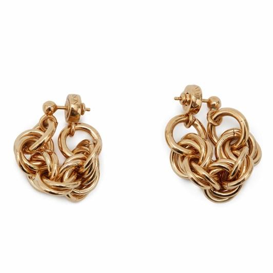 JW Anderson Multi-Links Folded Earrings