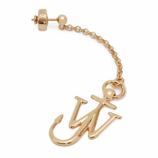 JW Anderson Asymmetric Anchor Earrings