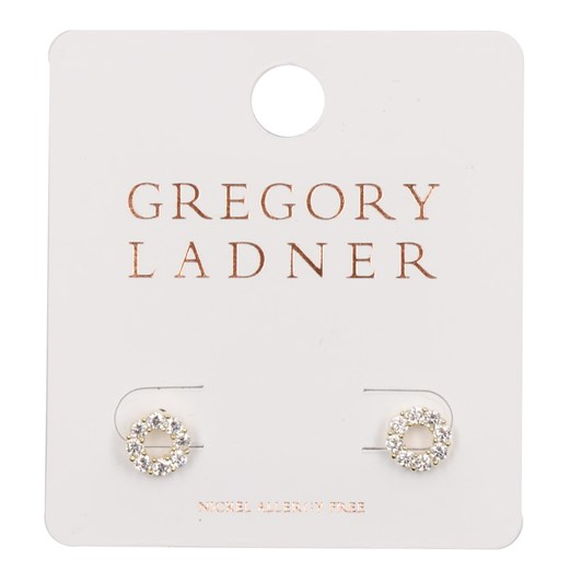 Gregory Ladner Small CZ Circle Earring
