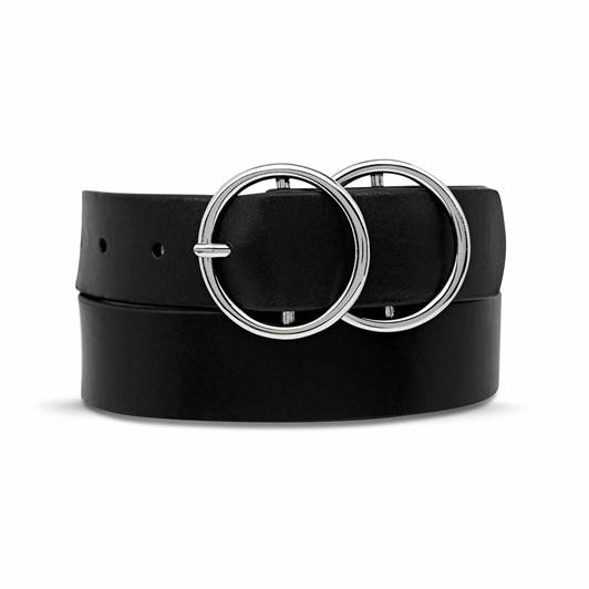 Status Anxiety Mislaid Belt Black Silver M/L