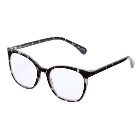 On The Nose Ruth - Black & White Tortoiseshell Glasses