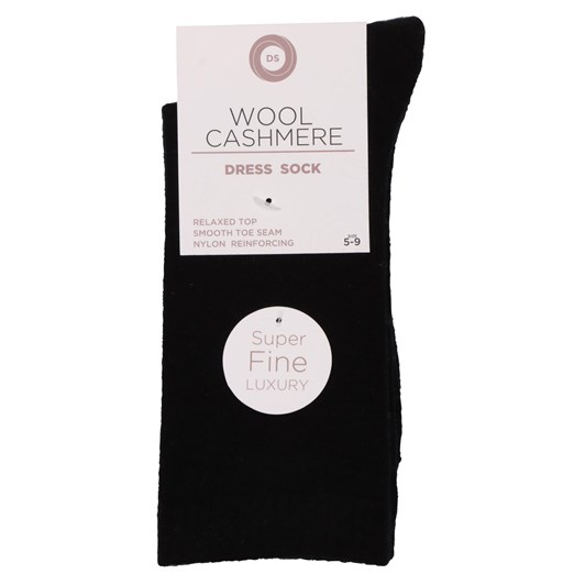 Designer Textiles Classic Wool Cashmere Dress Sock