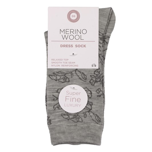 Designer Textiles Roll Top Merino Dress Socks