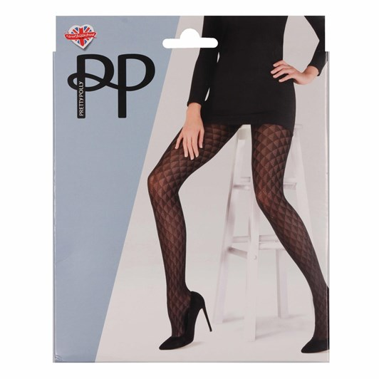 Pretty Polly Triangle Pattern Tights