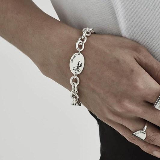 Stolen Girlfriends Club Scorpion Oval Bracelet