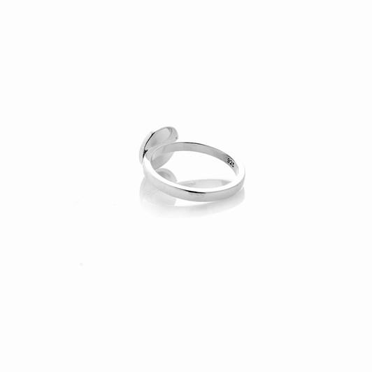 Stolen Girlfriends Club Scorpion Plate Ring Mini
