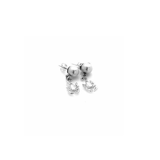 Stolen Girlfriends Club Scorpion Pearl Earrings