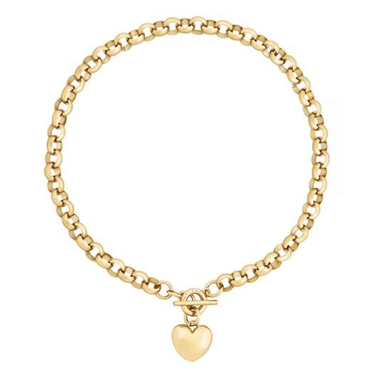 Edblad Barley Chunky Chain Gold Necklace