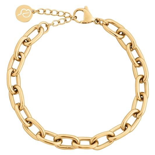 Edblad Trellis Chain Gold Bracelet