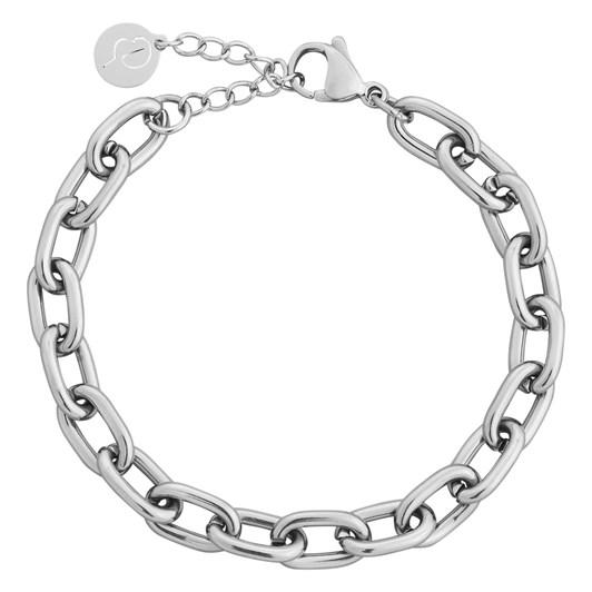 Edblad Trellis Chain Steel Bracelet