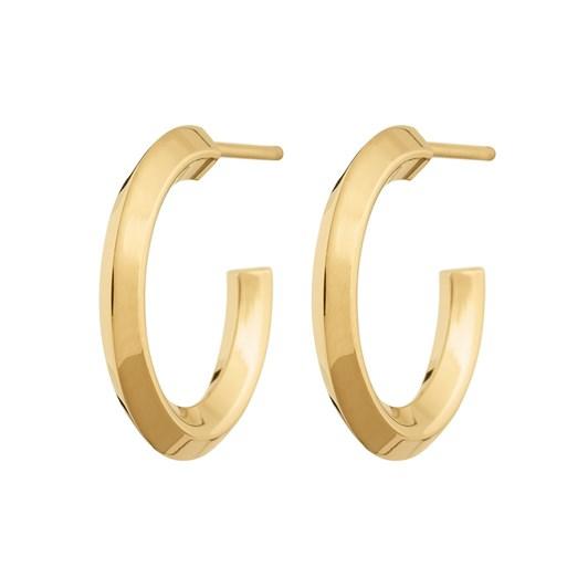 Edblad Aralia Creole Small Gold Earrings