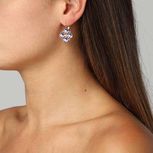 Dyrberg Kern Mia Sg Lavender Earring