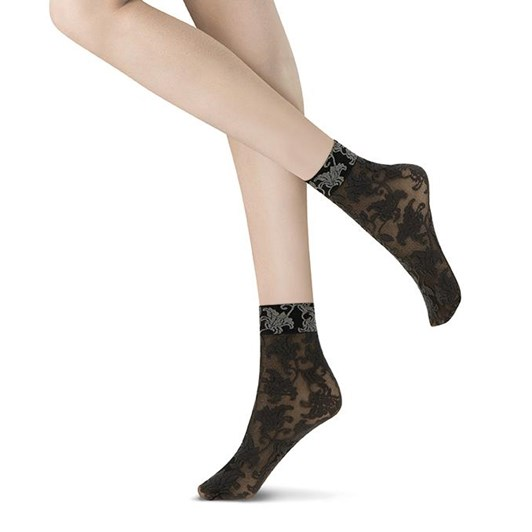 Oroblu Bicolor Lace Socks