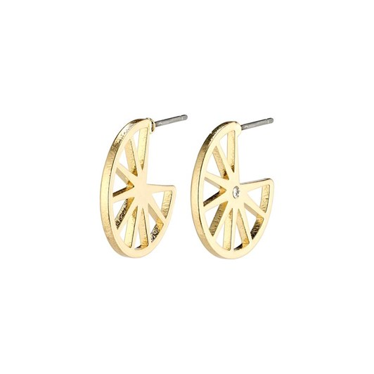 Pilgrim Kaylee Gold Plated-Crystal Earrings