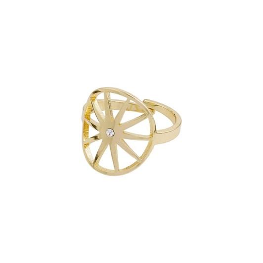 Pilgrim Kaylee Gold Plated-Crystal Ring