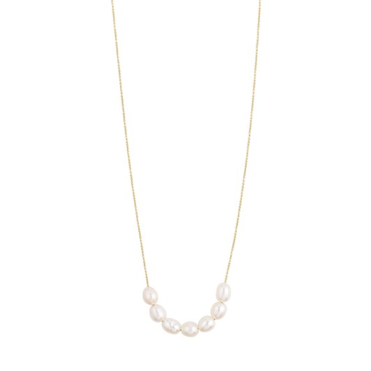 Pilgrim Chloe Gold Plated-White Necklace