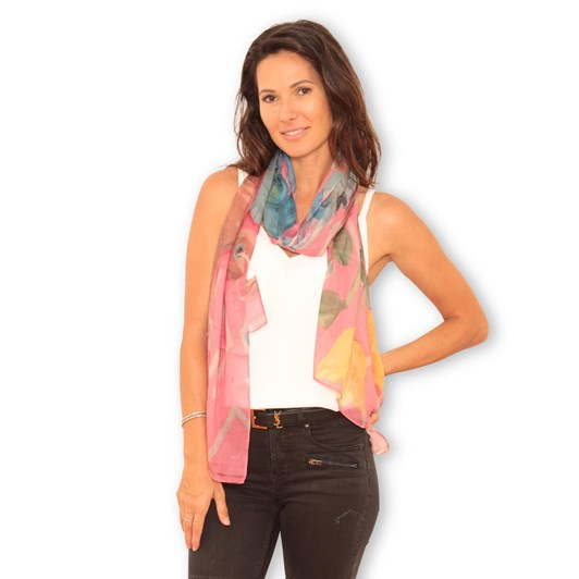 The Artist Label Ikat Scarf