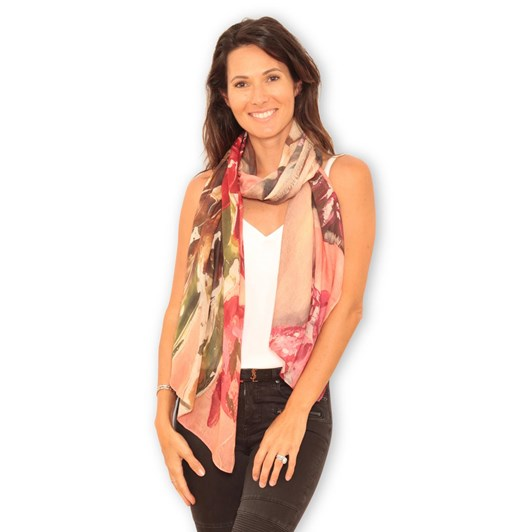 The Artist Label Miss Bohemian Wool Scarf