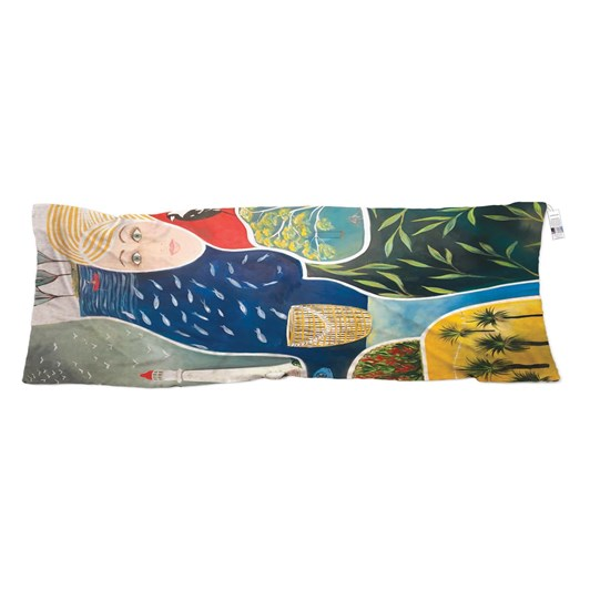 The Artist Label Summer Holidays Wool Scarf
