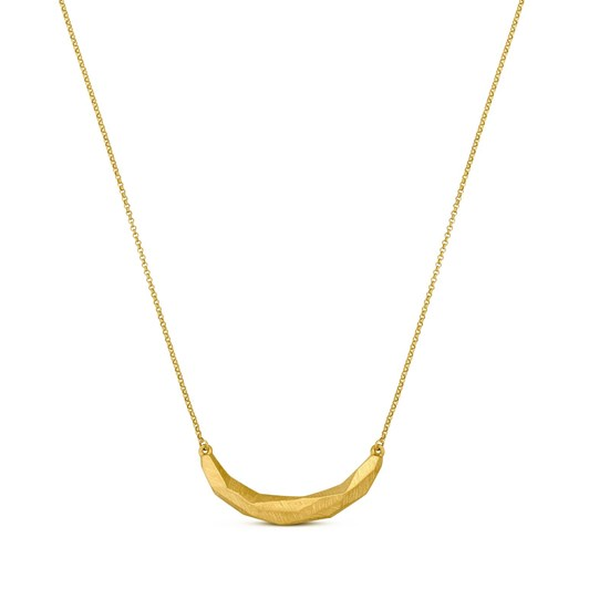 Joidart Facet Gold Chain Large Motif Necklace