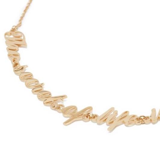 JW Anderson x Oscar Wilde Capsule: Oversize Necklace
