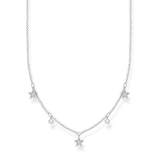 Thomas Sabo Necklace Stars Silver
