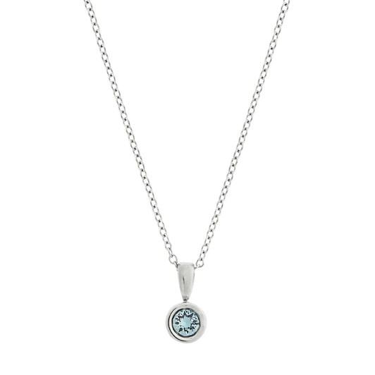 Edblad Dew Drop Necklace Aqua Steel