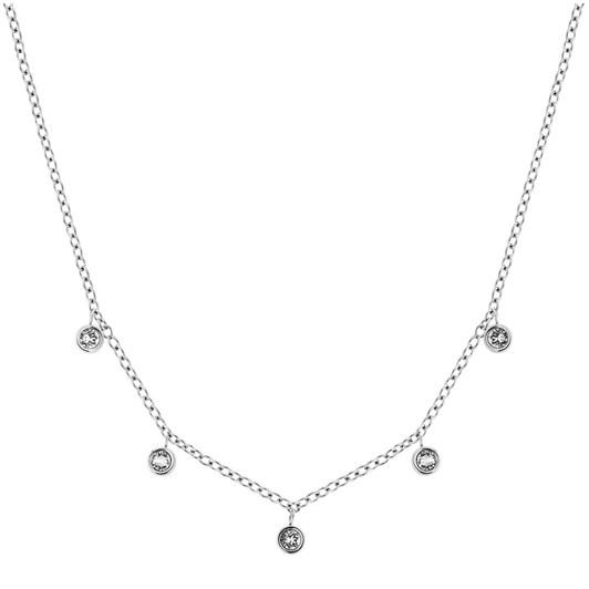 Edblad Dew Drop Necklace Multi Aqua Steel