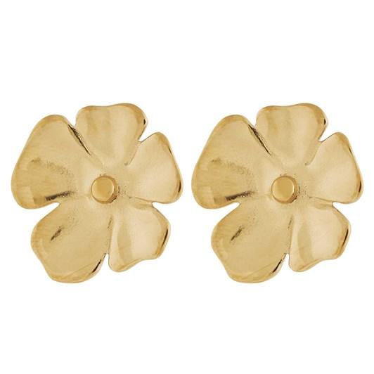 Edblad Floral Studs L Gold