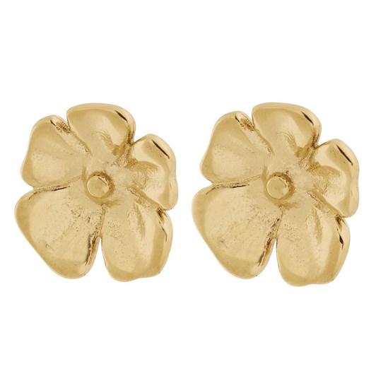 Edblad Floral Studs S Gold