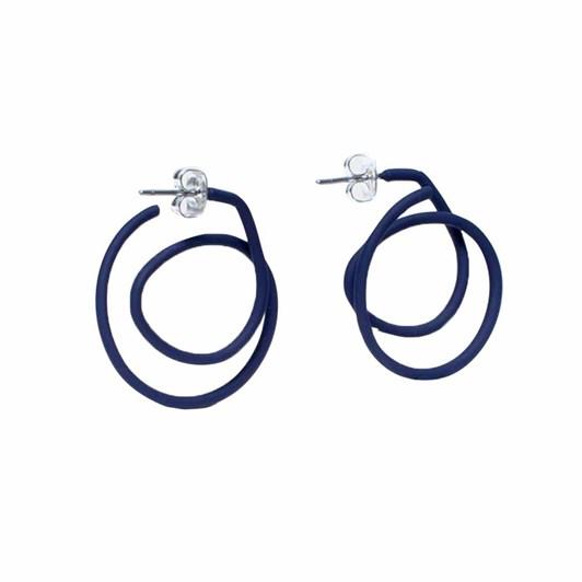 Elk Spiral Earring