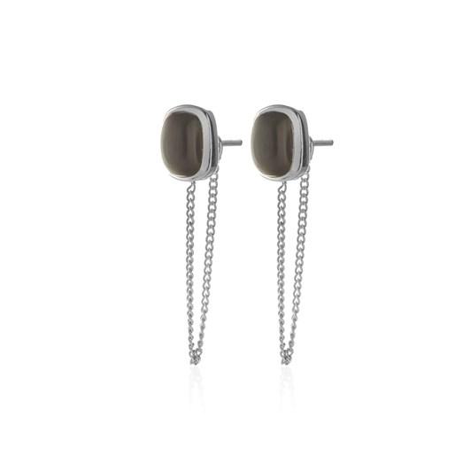 Silk & Steel Heritage Connected Stud Earrings