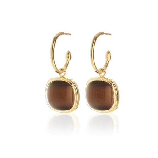 Silk & Steel Heritage Hoop Earrings
