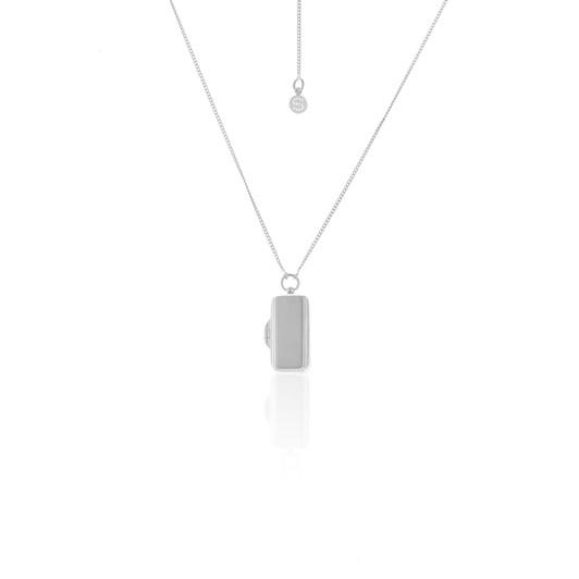Silk & Steel Legacy Locket  Necklace