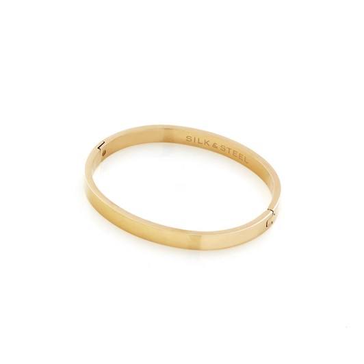Silk & Steel Sleek Bangle